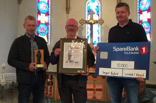 Gratulerer med ildsjelprisen,Torgeir!