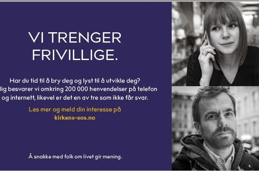 Kirkens SOS Telemark arrangerer kurs