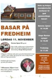 Basar på Fredheim
