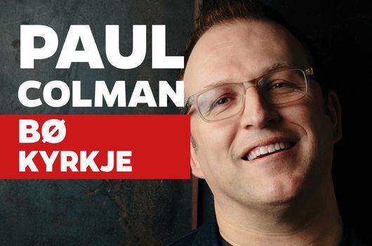 Konsert: Paul Colman 11. mars i Bø kyrkje