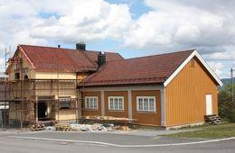 Det bygges på Fredheim menighetshus
