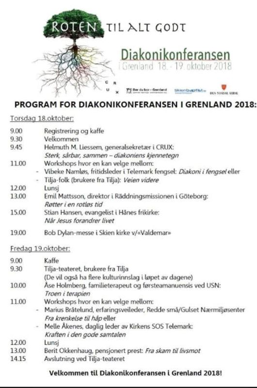 Diakonikonferanse i Grenland 18.-19.oktober