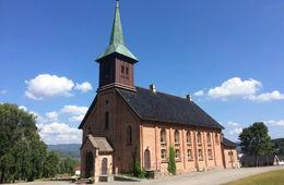 Gladsangkveld i Holla kirke