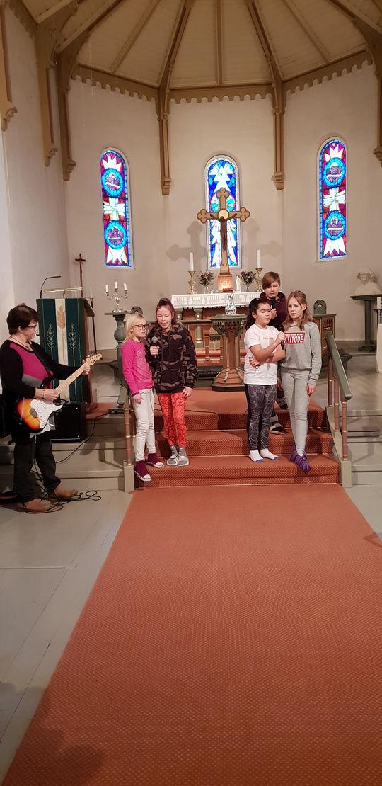 LYS VÅKEN i Holla kirke 23. – 24. november