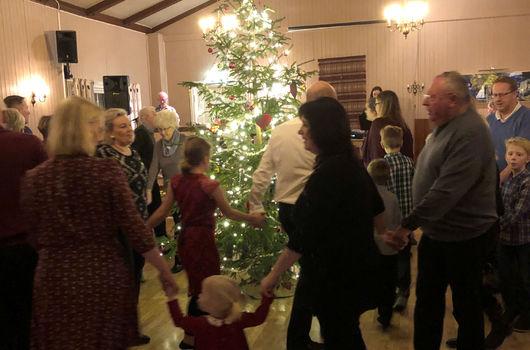 Juletrefest på Fredheim
