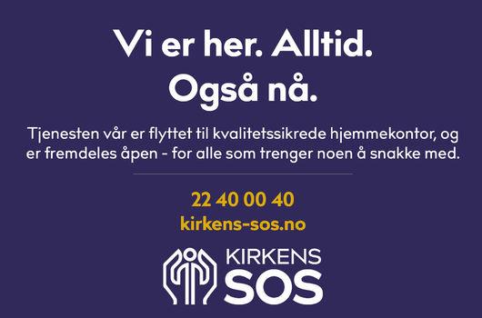 Informasjon fra Kirkens SOS